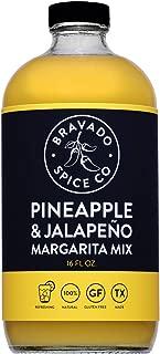 product image for Pineapple & Jalapeno Margarita Mix By Bravado Spice Gluten Free, Vegan, Low Carb, Paleo Margarita Mix All Natural 16oz Bottle Award Winning Gourmet Margarita Mix