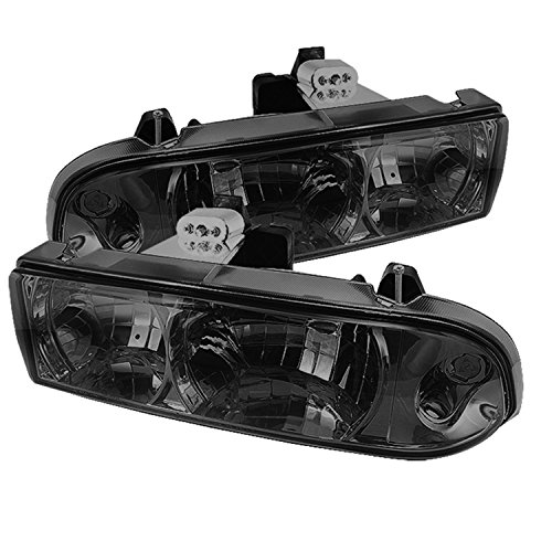 Spyder Auto HD-YD-CS1098-SM Chevrolet S10/Blazer Smoke Crystal Headlight
