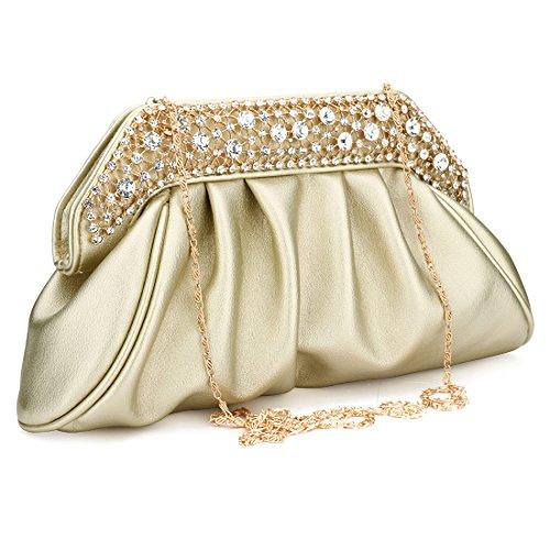 Bag femme Pochette Doré pour YYW Evening 4nq5PP