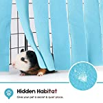 DIDIPET Guinea Pig Hideaway Corner Fleece Forest Hideout for Ferrets Chinchillas Hedgehogs Dwarf Rabbits and Other Small Pets - Accessories and Toys 9
