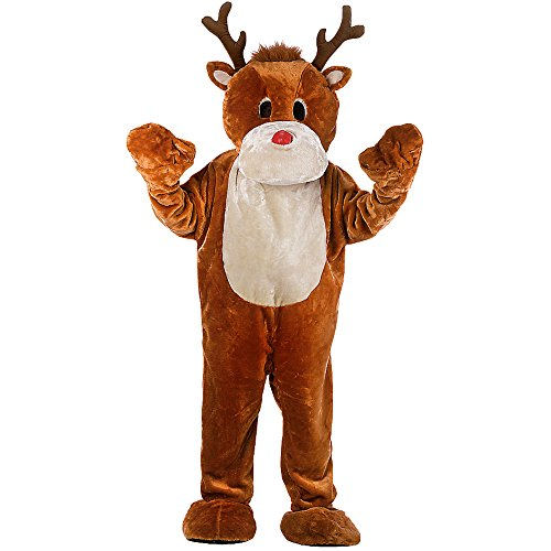 Carnival Toys Big Moose Costume with Gloves, Feet and Head in 27042 XXL