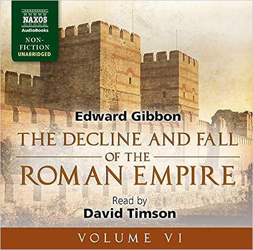 Amazon com: The Decline and Fall of the Roman Empire, Volume