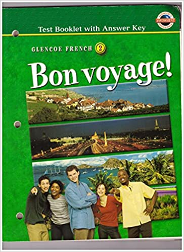 Bon Voyage Level 2 Test Booklet With Answer Key McGraw