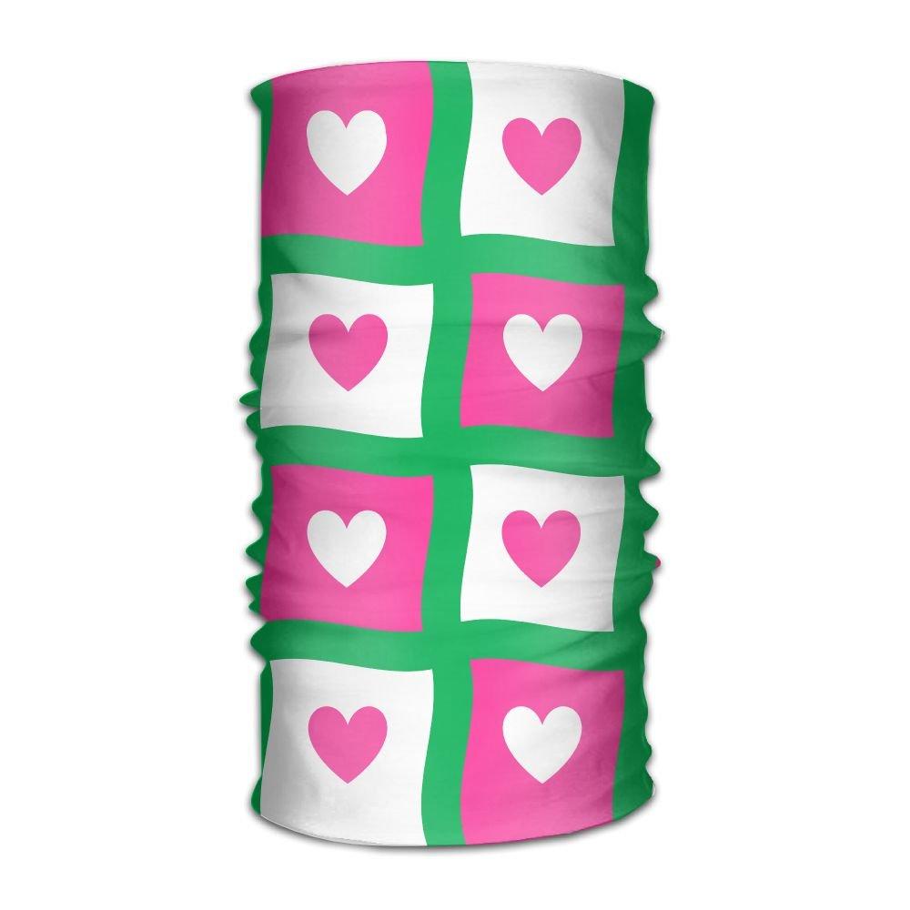 Magic Headwear Pink Heart Outdoor Scarf Headbands Bandana Mask Neck Gaiter Head Wrap Mask Sweatband