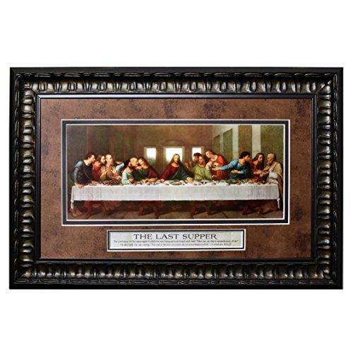 (Last Supper Framed Wall Art)