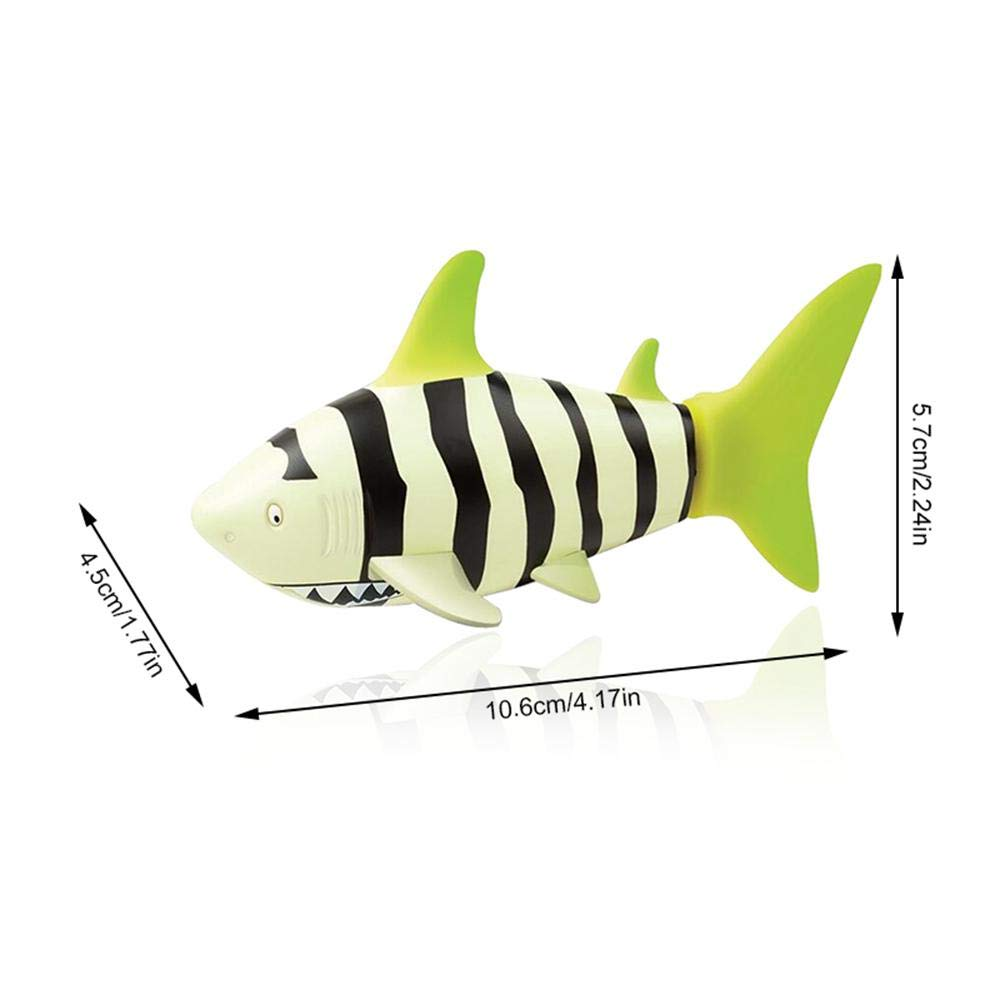 Mini Remote Control Toy Kids Bath Toys Summer Swimming Water Toy Boat Ship Kid Gift for Children Yeldou Electric RC Fish Boat Shark