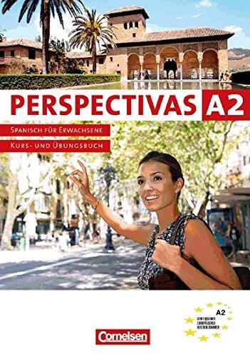 Perspectivas. Spanisch für Erwachsene / Band 2 - Europäischer Referenzrahmen: A2: Kurs-, Arbeitsbuch und Vokabeltaschenbuch. Inkl. CD zum Übungsteil