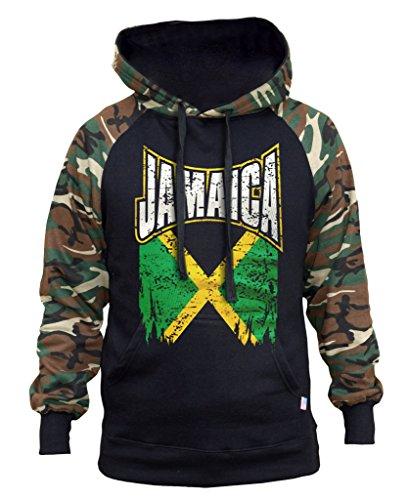 Jamaica Mens Hoodie - 6