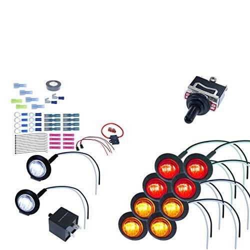 MCSADVENTURES ATV/UTV SXS Turn Signal DIY Street Legal covid 19 (Advance Mcs Electronics coronavirus)