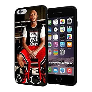 Floyd Mayweather the Champion, Boxing, Boxer, Cool iphone 5c Smartphone Case Cover Collector iphone TPU Rubber Case Black
