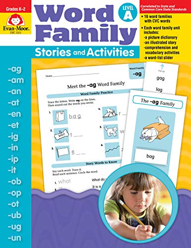 Word Family Stories & Activities, Level -