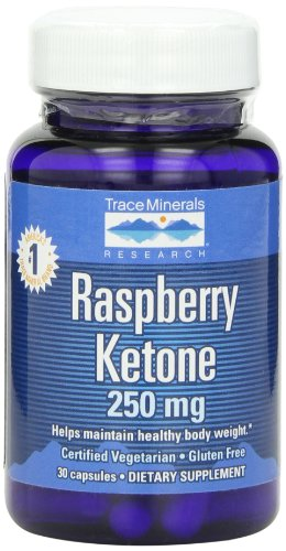Raspberry Ketone 250 mg - 30 Capsule by Trace Minerals Research