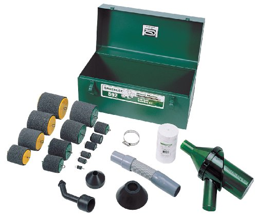 Greenlee 592 Mighty Mouser Blow Gun Kit for 1/2-Inch - 4-Inch Conduit by Greenlee