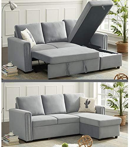 Editors' Choice: Harper Bright Designs Reversible Sleeper Sectional Sofa