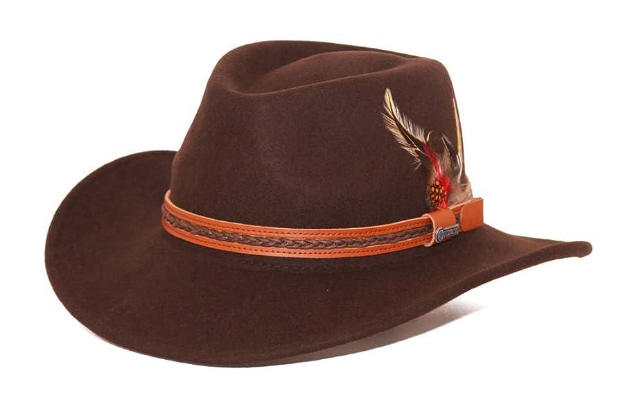 Stetson Mountain Sky Crushable Wool Felt Hat - SWMTSK-8132 Acorn ... bbcf56d432e