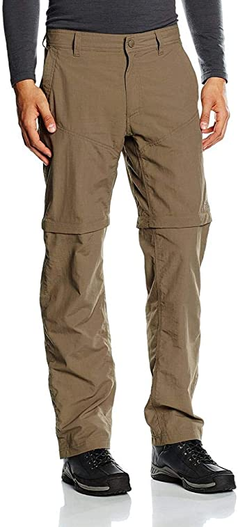 The North Face Men S Horizon Convertible North Face Men S Horizon Convertible Eu Pants Brown Weimaraner Brown Size 32 Amazon Co Uk Clothing