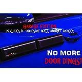 Ding Bats - Removable Magnetic Car Door Protectors, SET OF FOUR Car Door Guards, Car Door Protection, Door Ding Dent Protectors (Garage Edition)