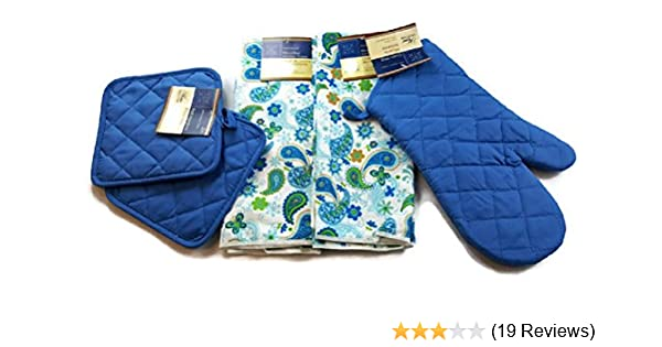 mainstays small decorative basket 2 pack.htm amazon com blue paisley kitchen towel linen bundle five  5  blue paisley kitchen towel linen bundle