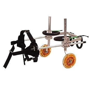 LMCWLY Silla de ruedas for perros, andador estándar y ...