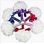 StillCool-Wedding-Bouquet-Crystal-Pearl-Silk-Roses-Bridal-Bridesmaid-Wedding-Hand-Bouquet-Artificial-Fake-Flowers-18cm-x-24cm-Royal-blue