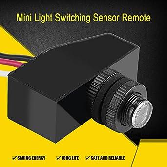 12v 24v 36v 48v Photocell Light Switch Auto On Off Light Sensor
