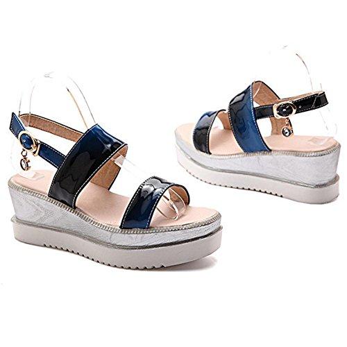 Blue Confort JOJONUNU Plateforme Femmes Sandales 5HnAwq51Z