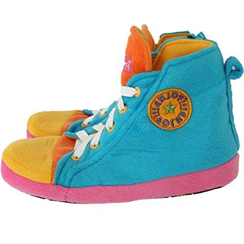 de fonseca ,  Jungen Mädchen Unisex-Kinder Durchgängies Plateau Sandalen mit Keilabsatz Blau