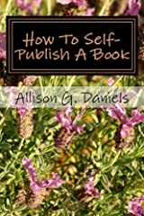 How To Self-Publish A Book Paperback