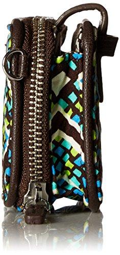 Rfid Cotton Wristlet Vera Forest Smartphone Rain Signature Bradley SAxnTwU