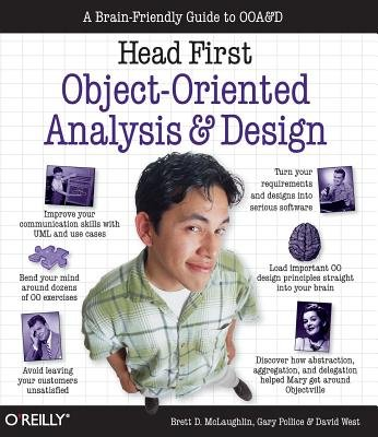Head First Object-Oriented Analysis and Design( A Brain Friendly Guide to OOA&D)[HEAD 1ST OBJECT-ORIENTED ANALY][Paperback]