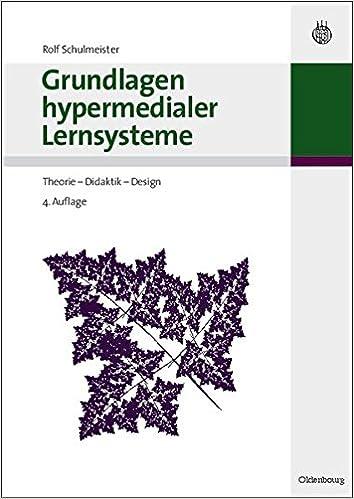 Book Grundlagen Hypermedialer Lernsysteme: Theorie - Didaktik - Design