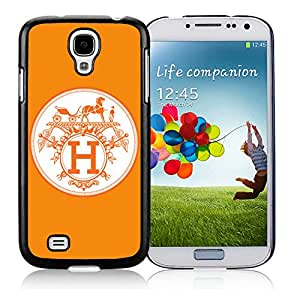 Fashion Designed Cover Case For Samsung Galaxy S4 I9500 i337 M919 i545 r970 l720 With Hermes 16 Black Phone Case