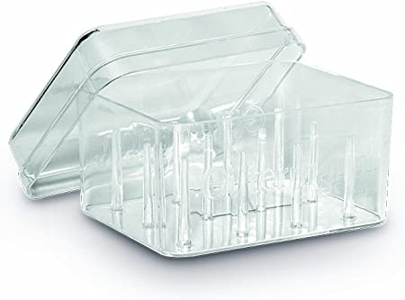 Gutermann - Caja para 12 bobinas de Hilo (acrílico), Transparente: Amazon.es: Hogar