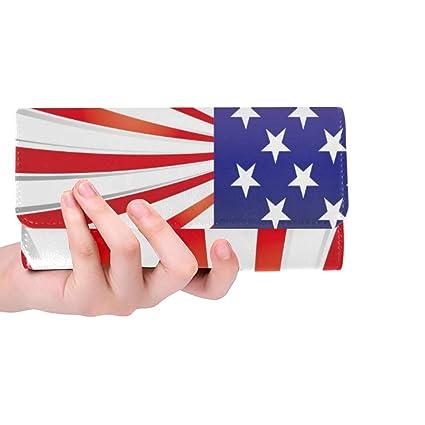 Elementos Personalizados únicos Bandera de EE. UU. Monedero ...