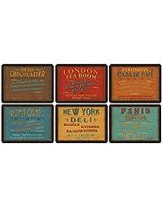 Pimpernel bordstabletter för lunch, klassisk, 6 stycken bordstabletter flera färger