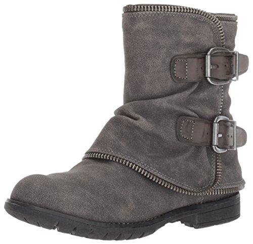 Grey Motorcycle Boots - 2