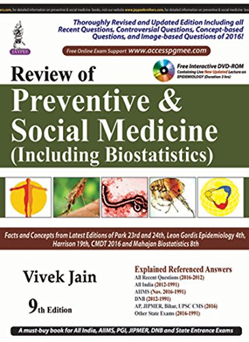 Review of Preventive & Social Medicine (Including Biostatistics) (PGMEE)
