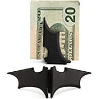 Clip Magnético Plegable Batman para Sujetar Billetes Color Negro Matte