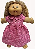 Doll Clothes Super store Pink Pearl Accent Dress Fits Cabbage Patch Kid And 18 Inch Girl Dolls