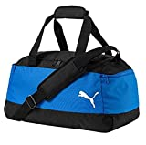 PUMA Soccer Medium Bag-Electric Blue Lemonade/Puma Black