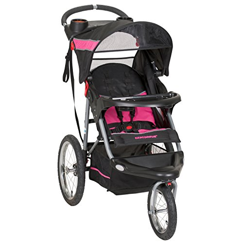 Baby Trend Expedition Jogger Stroller, Bubble Gum ()