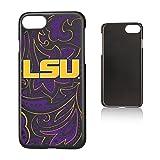 Keyscaper NCAA LSU Tigers LSU Louisiana State Tigers Paisley Slim Case, iPhone 8/7/6, Black