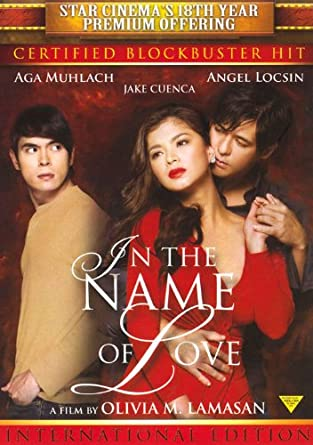Amazon com: In The Name Of Love Filipino DVD: Aga Muhlach, Angel
