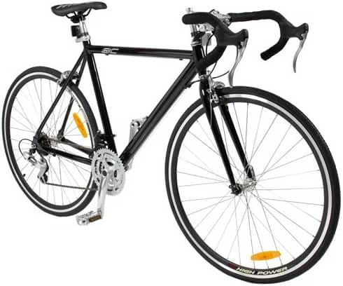 Best Choice Products Aluminum Racing Bike 54CM Commuter Road Bicycle 21 Speed 300C Shimano Blk