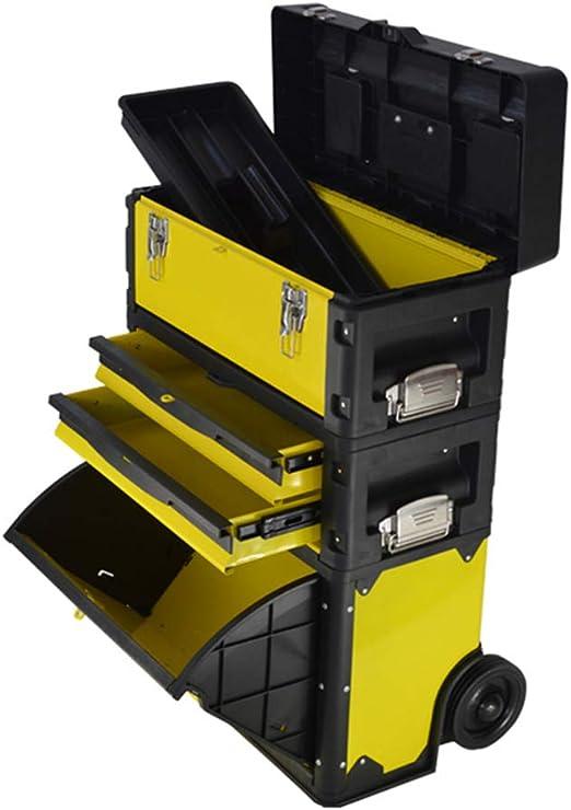 MLQ Caja de Herramientas rodante multifunción, móvil, colocación ...