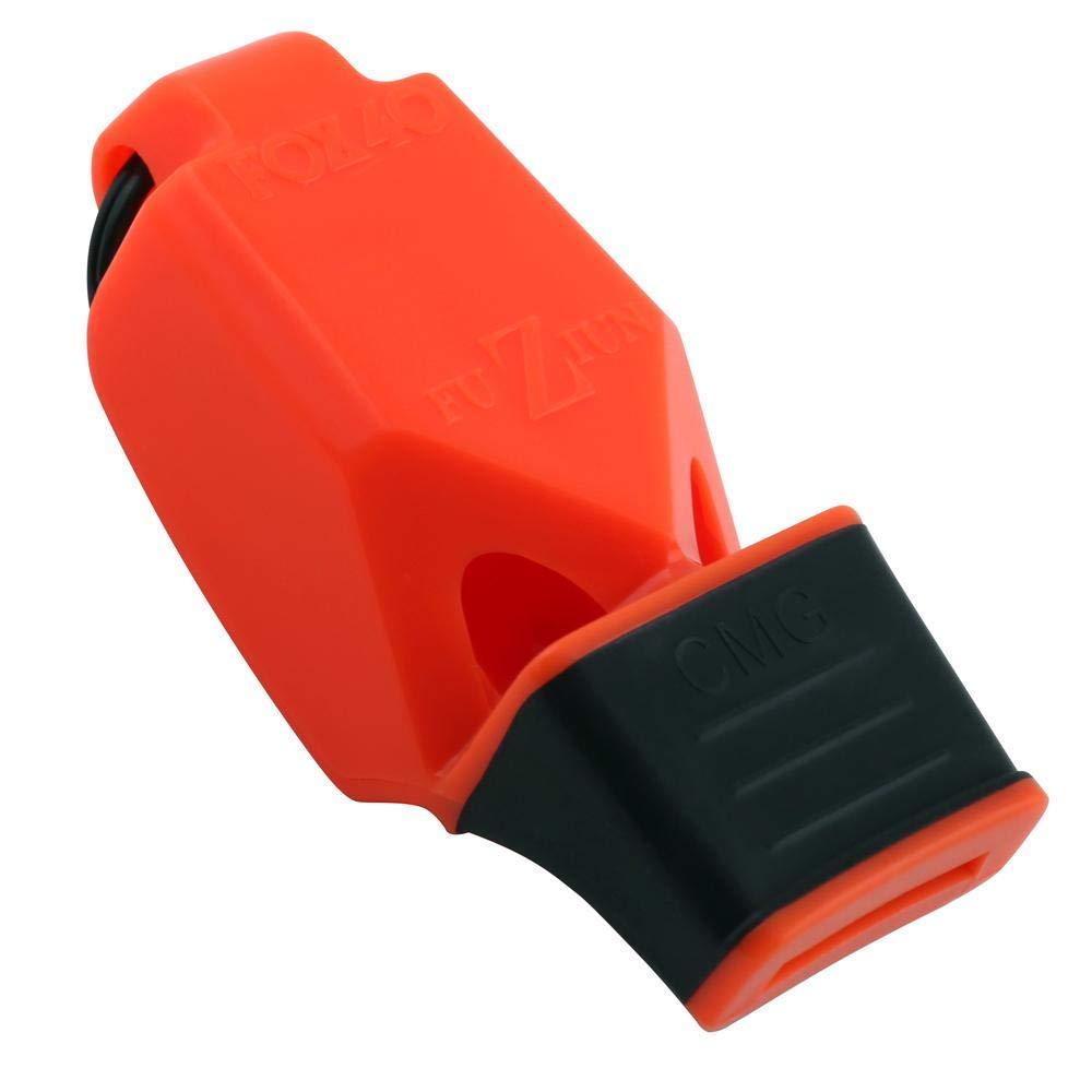 Fox 40 FUZIUN CMG ホイッスル 分離式ストラップ付き B07HNC7DDM オレンジ