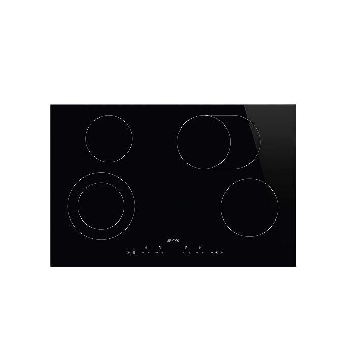 SMEG - Placa de cocción vitrocerámica: Amazon.es: Hogar