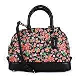 Coach Pink Floral Multi Mini Sierra Satchel F57621