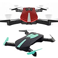 Cewaal Foldable RC Quadcopter Hold Camera Phone WIFI Control Altitude Drone