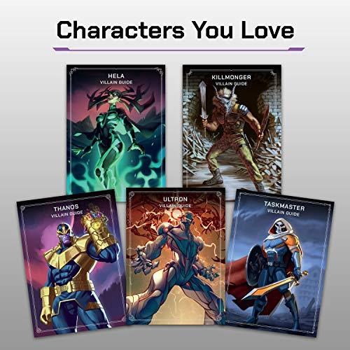 Ravensburger Marvel Villainous: Infinite Power Strategy Board Game for Ages 12 & Up - The Next Chapter of Villainous
